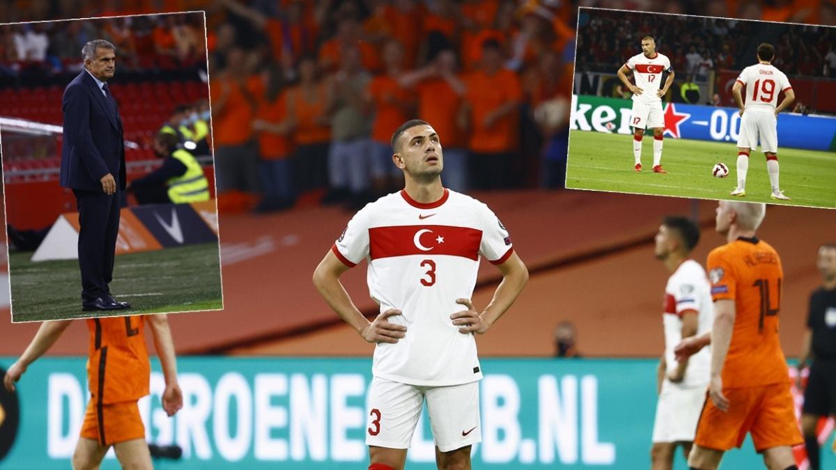 Türk duvarı paramparça oldu... Maç sonucu: Hollanda 6-1 Türkiye