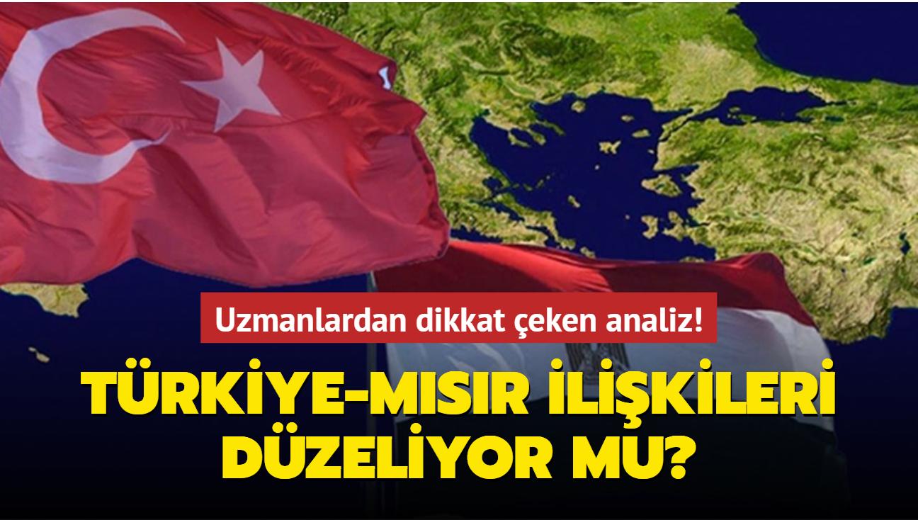 """Türkiye-Mısır ilişkileri düzeliyor mu"""" Uzmanlardan dikkat çeken analiz!"""