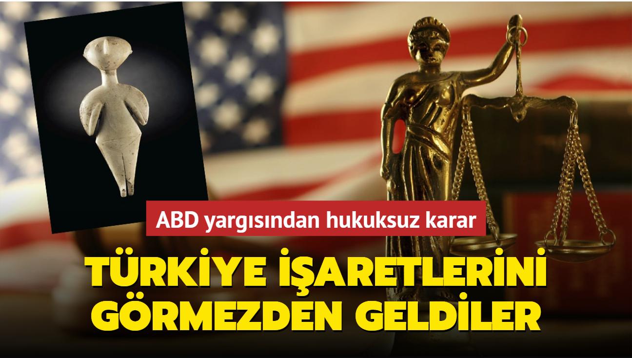 ABD yargısından hukuksuz karar... Türkiye işaretlerini görmezden geldiler