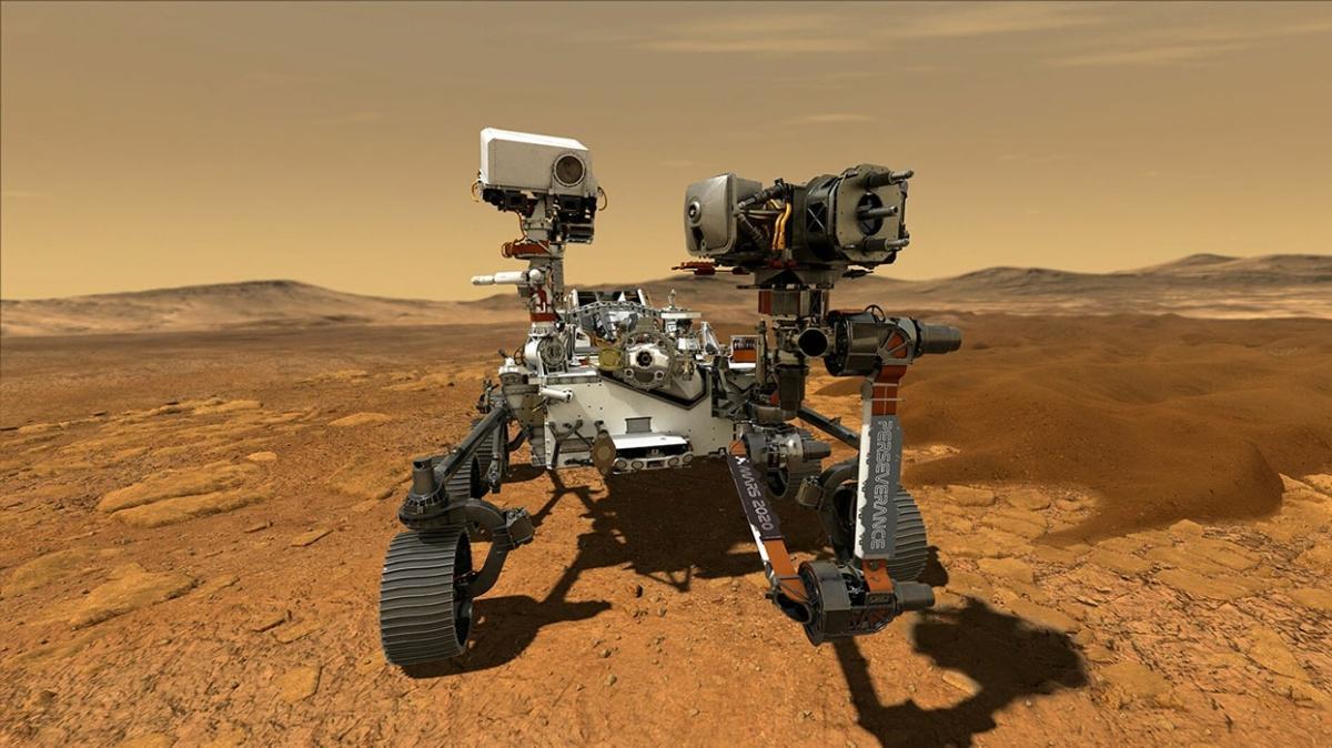 NASA'nın uzay aracı görevi başarıyla tamamladı... Mars'tan ilk örnek alındı