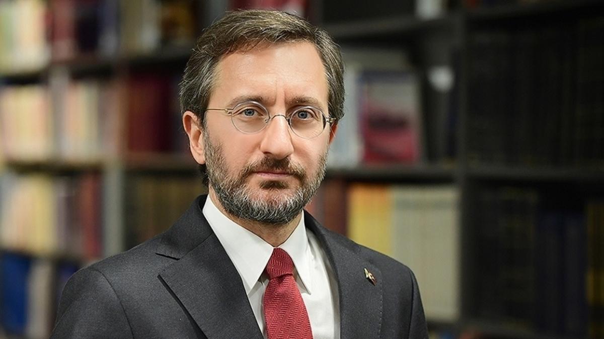 """İletişim Başkanı Fahrettin Altun'dan """"9 Eylül"""" mesajı"""