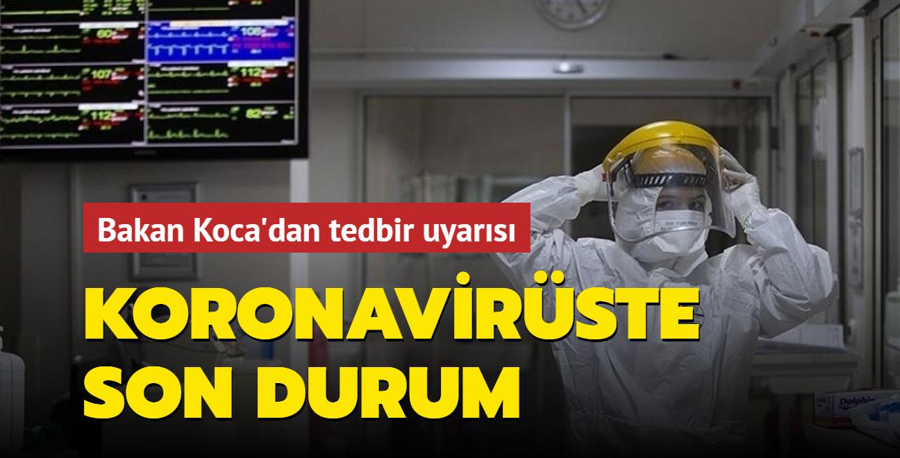 Sağlık Bakanı Fahrettin Koca Kovid-19 salgınında son durumu açıkladı... İşte 10 Eylül 2021 koronavirüs tablosu