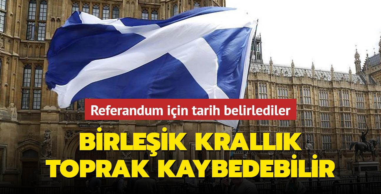 Birleşik Krallık'tan ayrılmak istiyorlar... Referandum için tarihi belirlediler