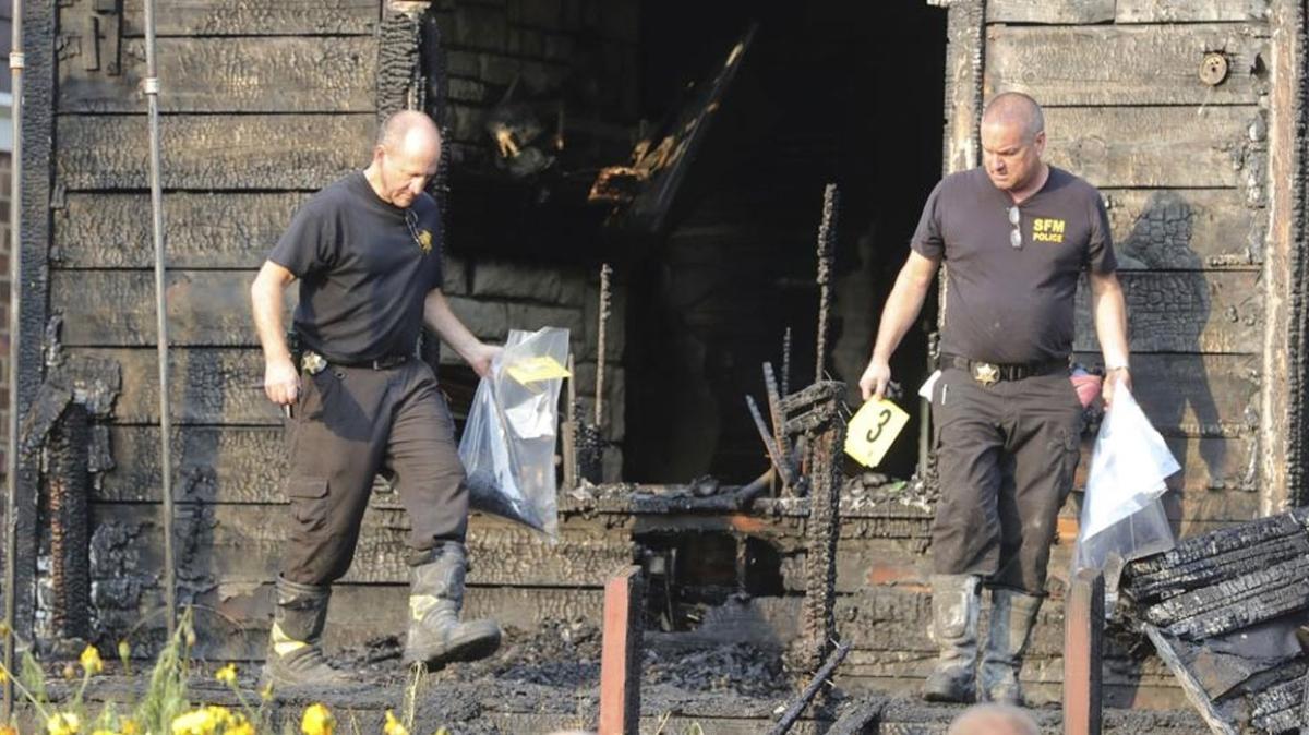 ABD'de yürek burkan yangın... 3'ü çocuk 5 kişi öldü