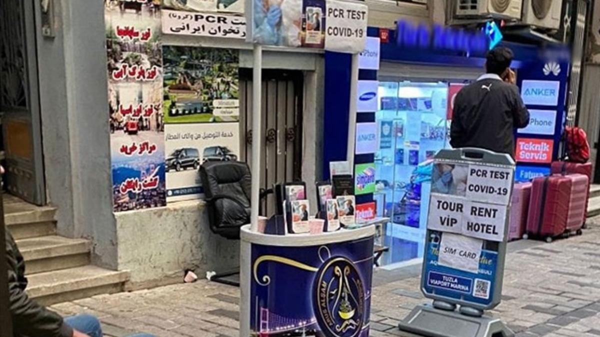 Beyoğlu'nda kaçak tur stantlarına ceza yağdı