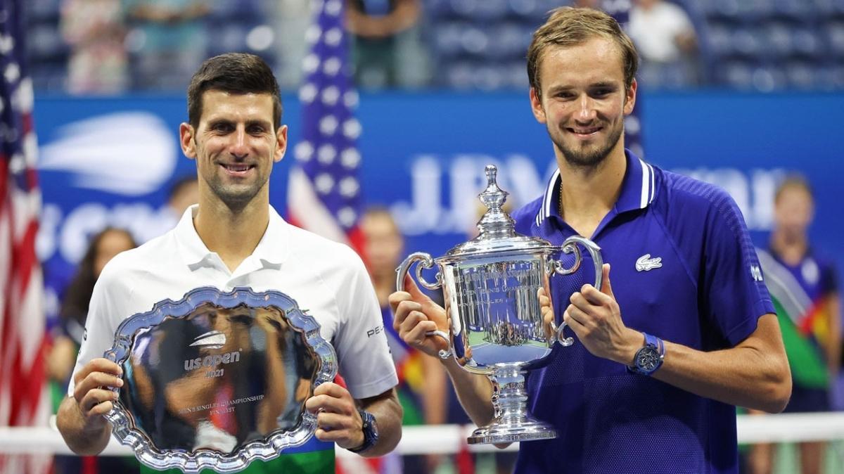 Djokovic'i deviren Medvedev Amerika Açık'ı şampiyon tamamladı