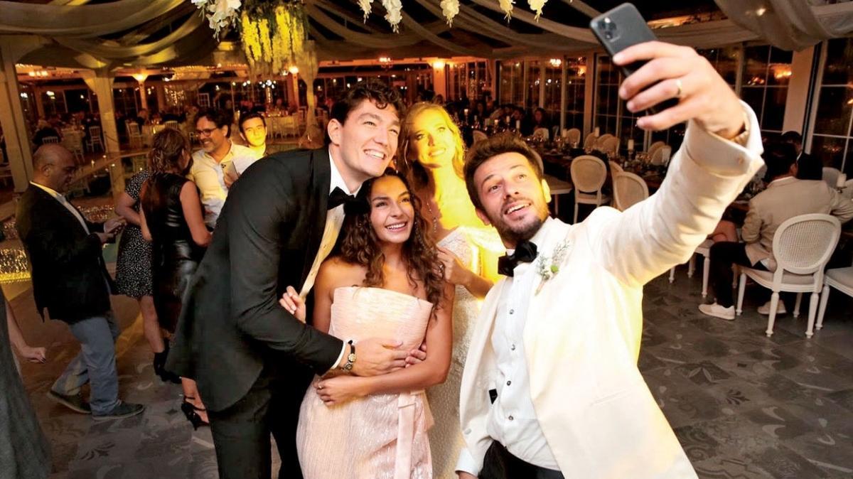 Ebru Şahin-Cedi Osman ikilisinden düğün provası