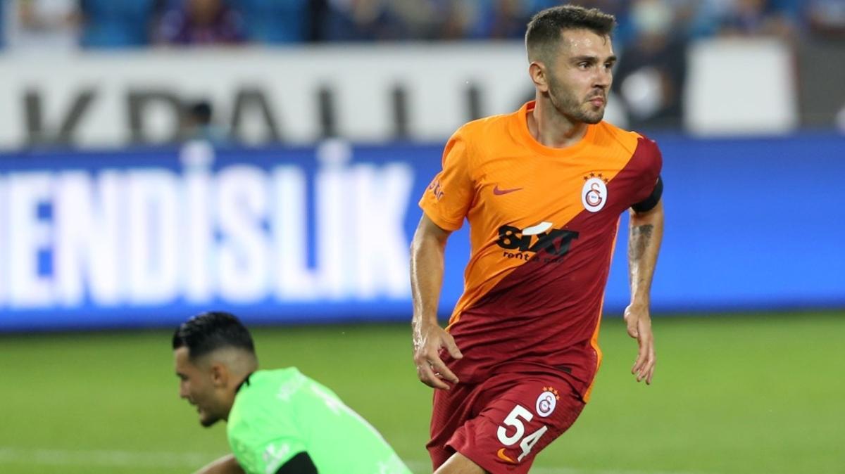 Emre Kılınç Trabzonspor maçında kariyer ilkini gerçekleştirdi