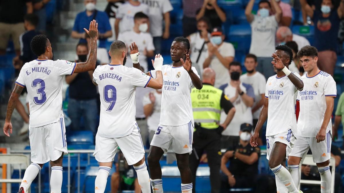 Santiago Bernabeu'ya dönüş maçında Real Madrid 5'ledi!