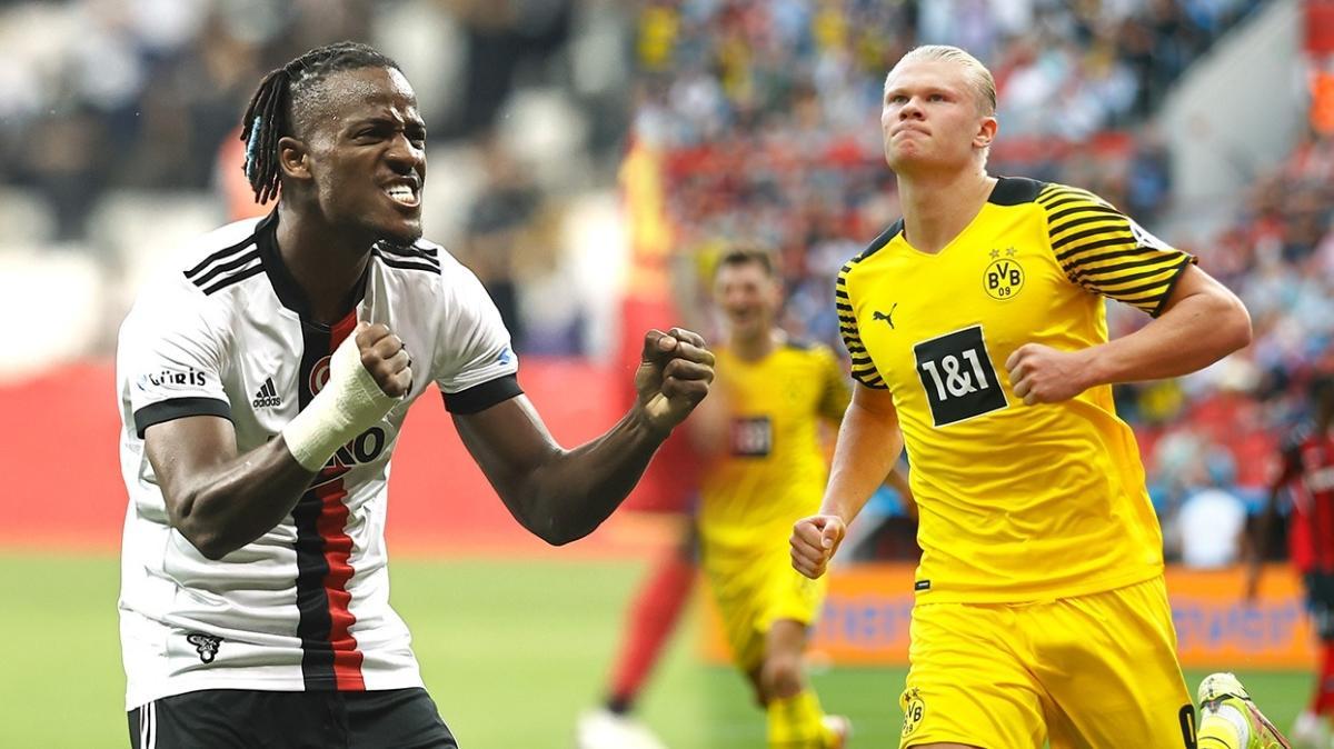 Ve sahne şampiyonların! Beşiktaş-Borussia Dortmund muhtemel 11'ler...