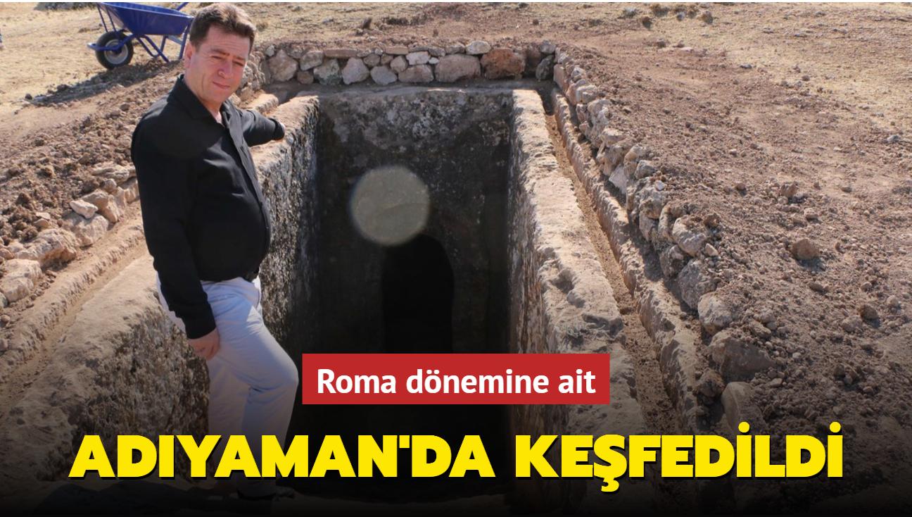 Roma dönemine ait: Adıyaman'da keşfedildi