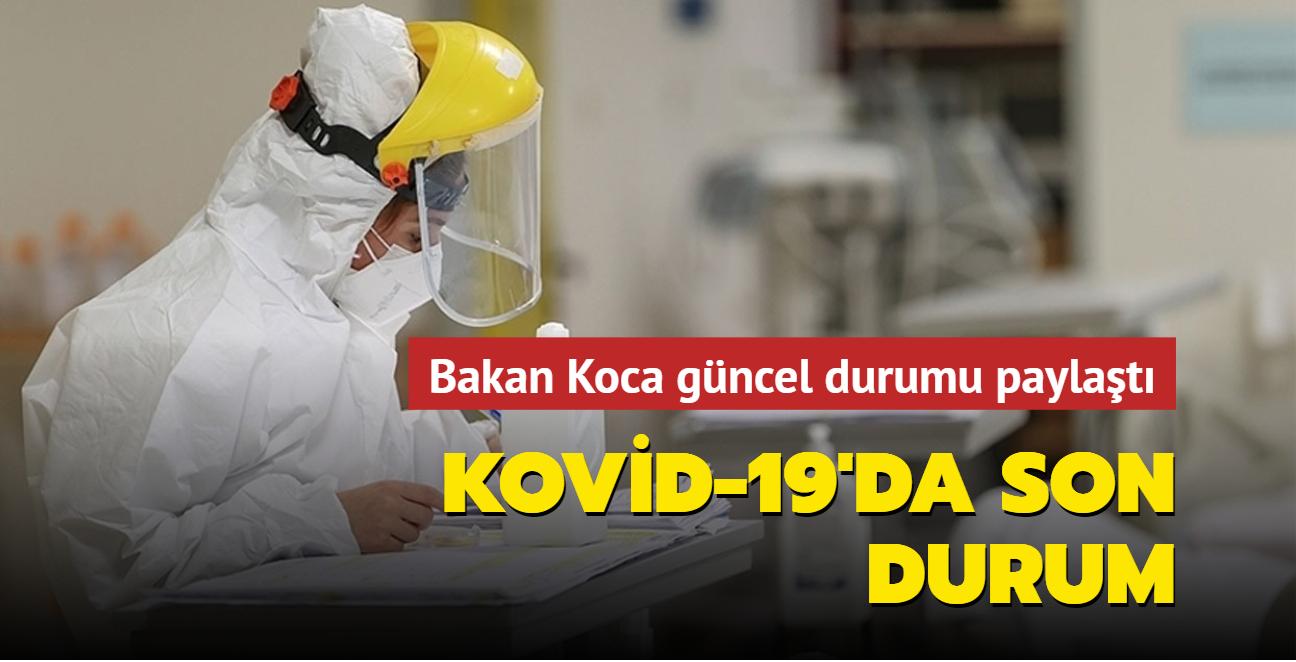 Sağlık Bakanı Fahrettin Koca Kovid-19 salgınında son durumu açıkladı... İşte 14 Eylül 2021 koronavirüs tablosu