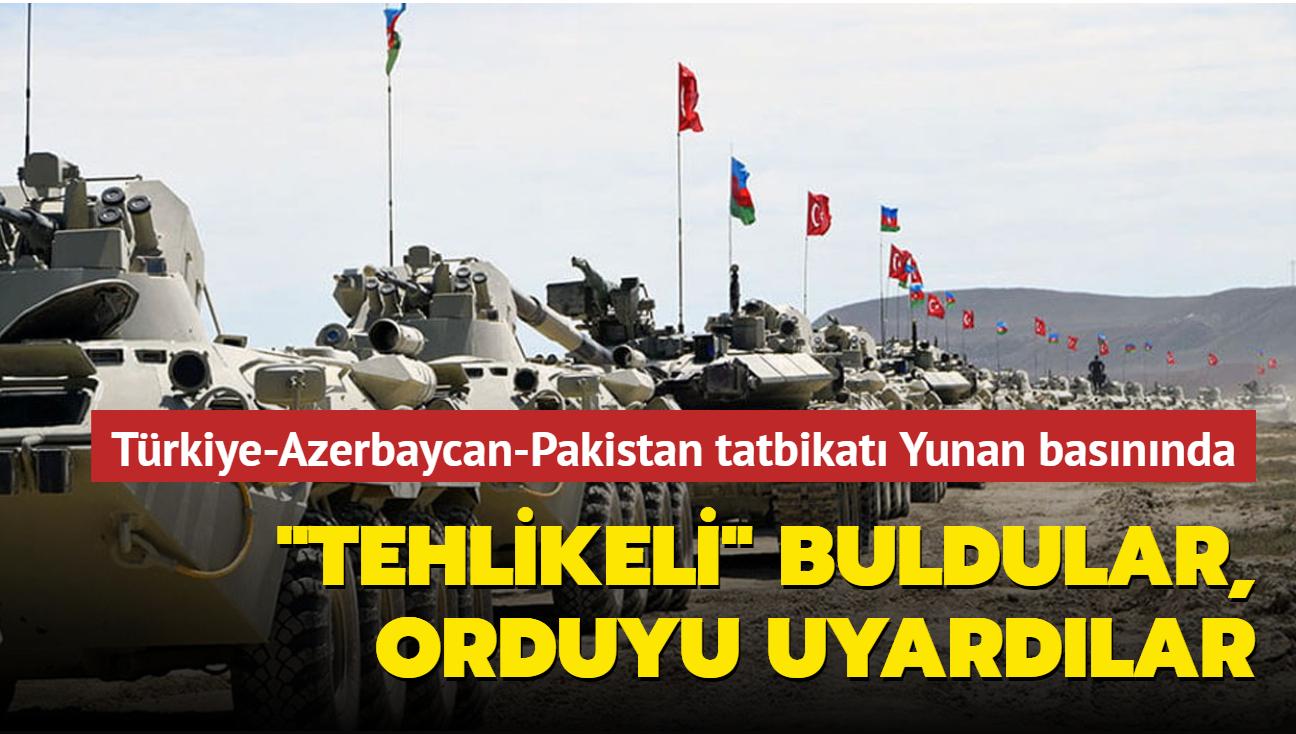 """Türkiye-Azerbaycan-Pakistan askeri tatbikatı Yunan basınında… """"Tehlikeli"""" buldular, orduyu uyardılar"""