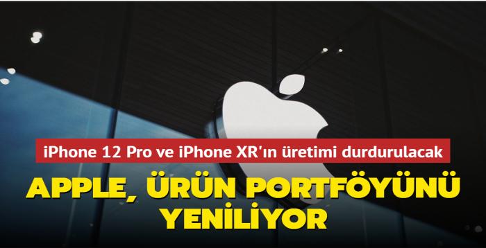 Apple, iPhone 13 serisinin tanıtımı sonrası iPhone 12 Pro ve iPhone XR'ı ürün portföyünden çıkaracağını açıkladı