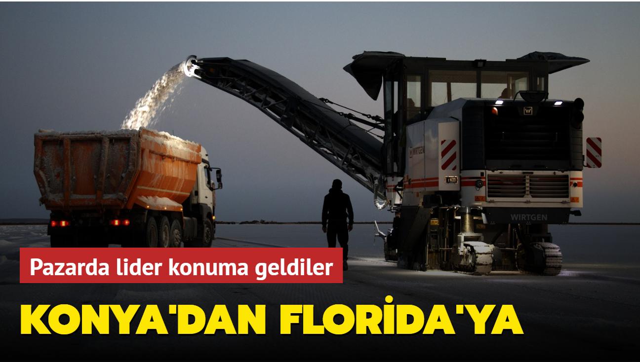 Konya'dan çıkıyor... ABD başta olmak üzere 70'ten fazla ülkeye ihraç ediliyor