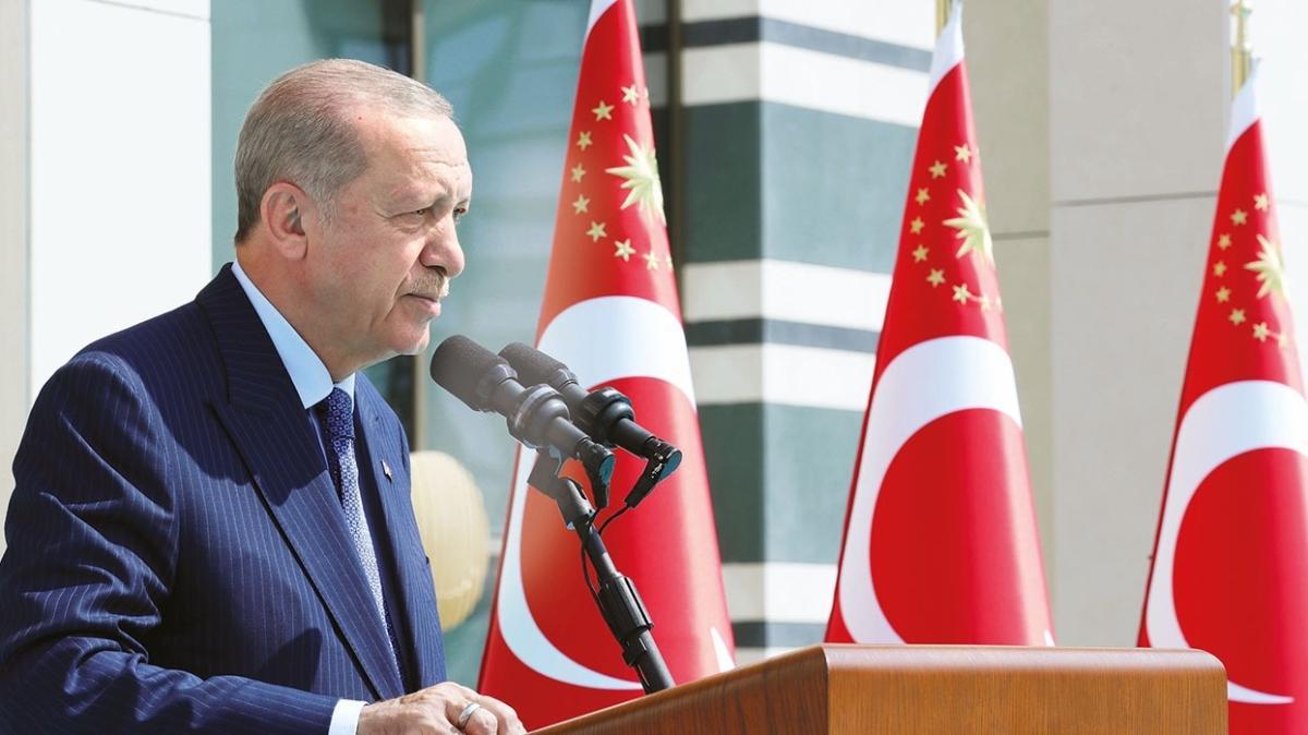 Başkan Erdoğan: Ekonomide dengeler oturuyor