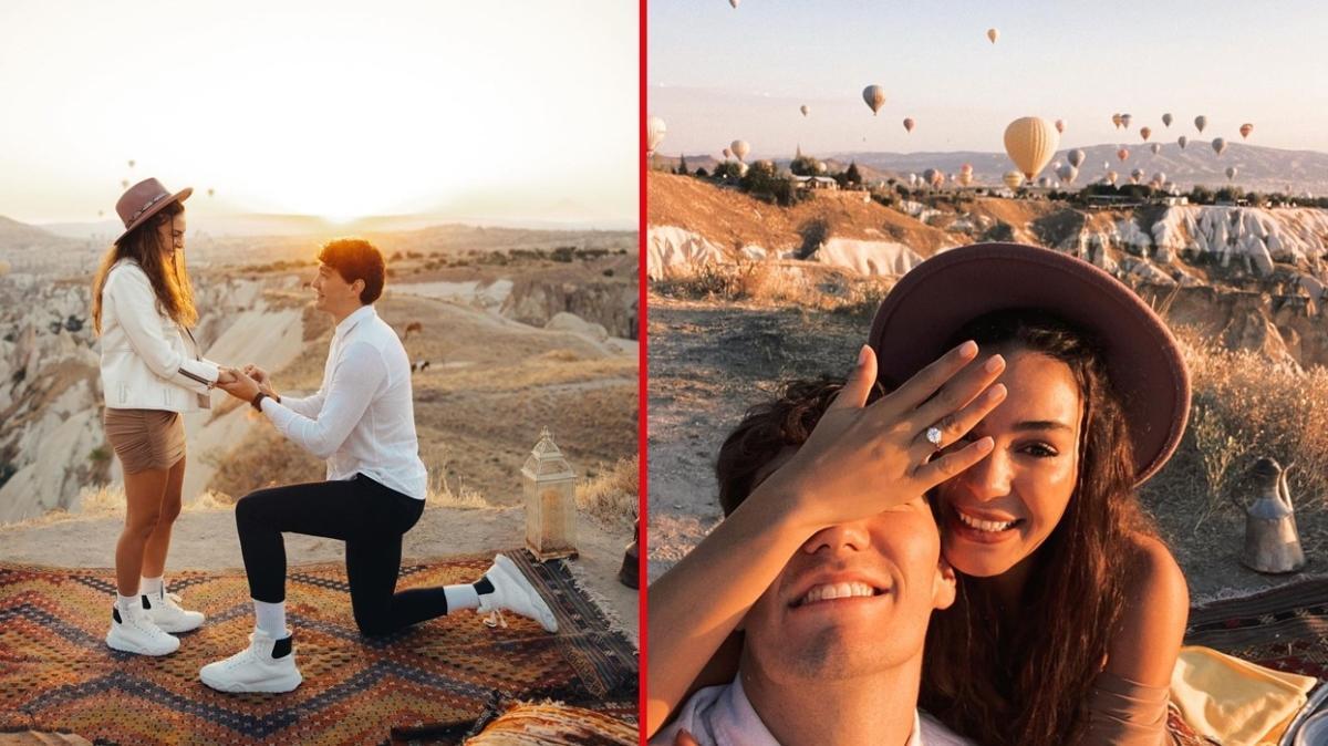 Cedi Osman, Ebru Şahin'e evlilik teklifi etti