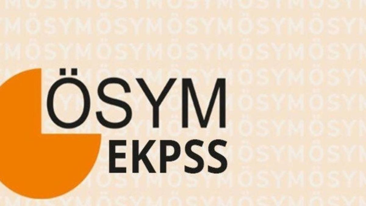 """EKPSS bu sene var mı, başvurular ne zaman başlayacak"""" 2022 EKPSS sınavı ne zaman"""""""