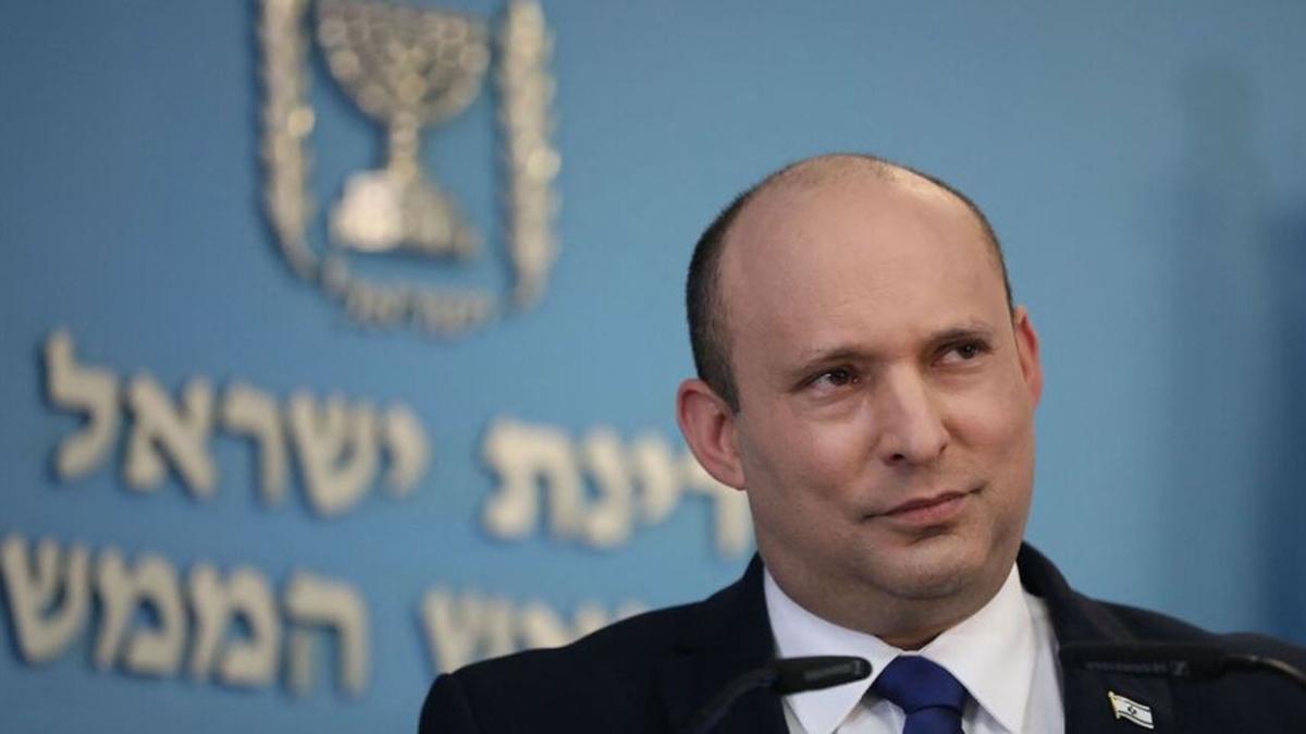 "İsrail Başbakanı Bennett: ""Filistin devletine karşıyım"""