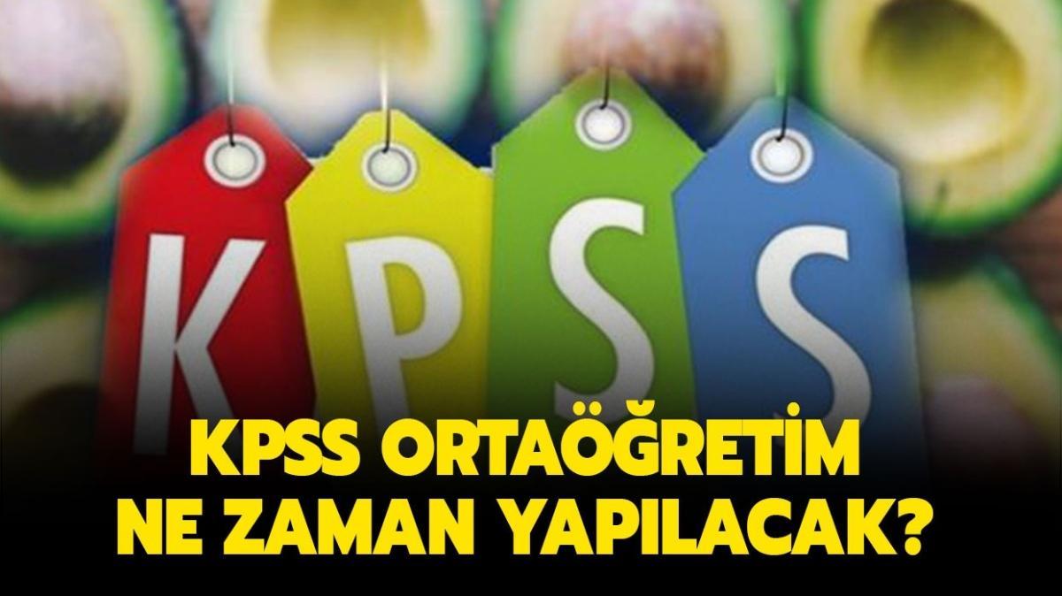 """2022 KPSS ortaöğretim ne zaman yapılacak"""" KPSS ortaöğretim bu sene var mı, başvuru tarihleri açıklandı mı"""""""