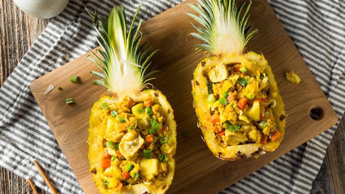 En çok sevilen Tayland yemekleri... İşte Ananaslı pilav tarifi