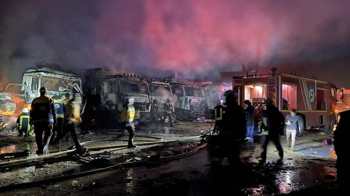 Rusya'dan İdlib'de 15 hava saldırısı