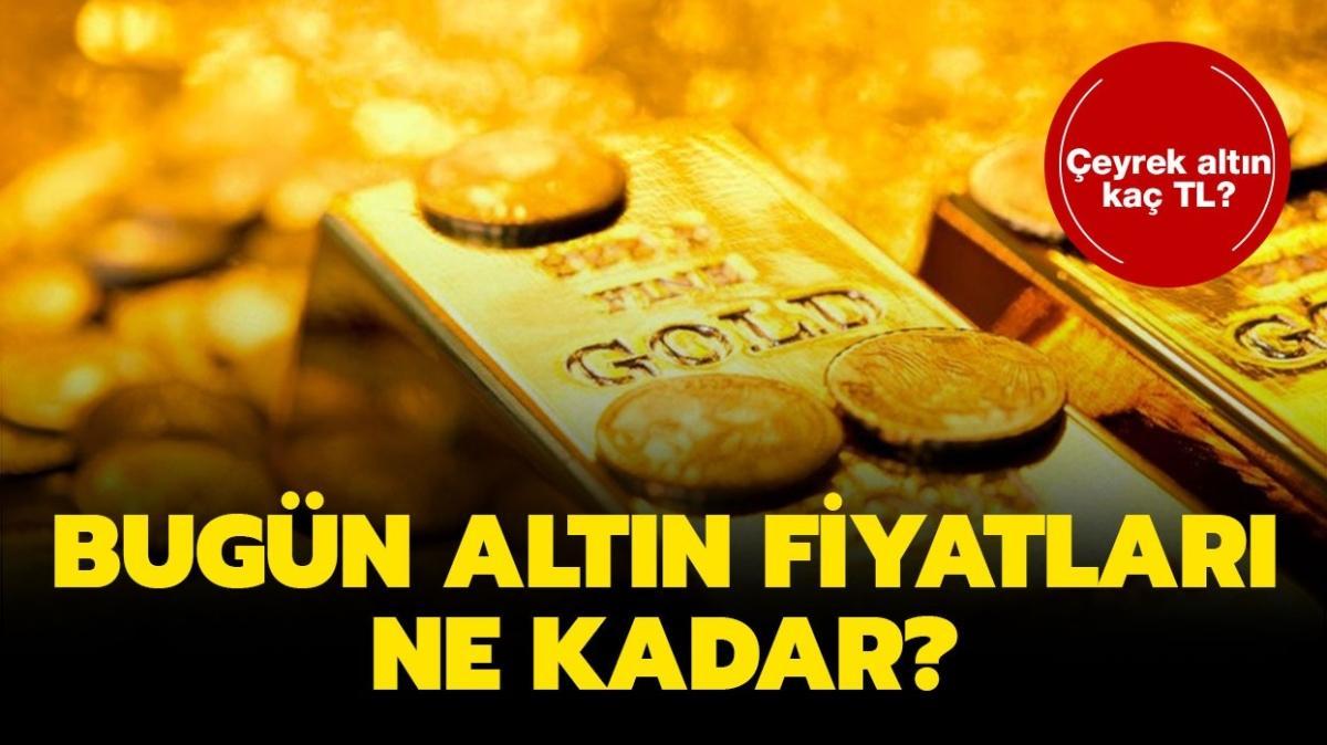 """Bugün çeyrek altın, gram altın, tam altın kaç TL oldu"""" 17 Eylül 2021 altın fiyatları ne kadar"""" İşte son dakika altın fiyatları!"""