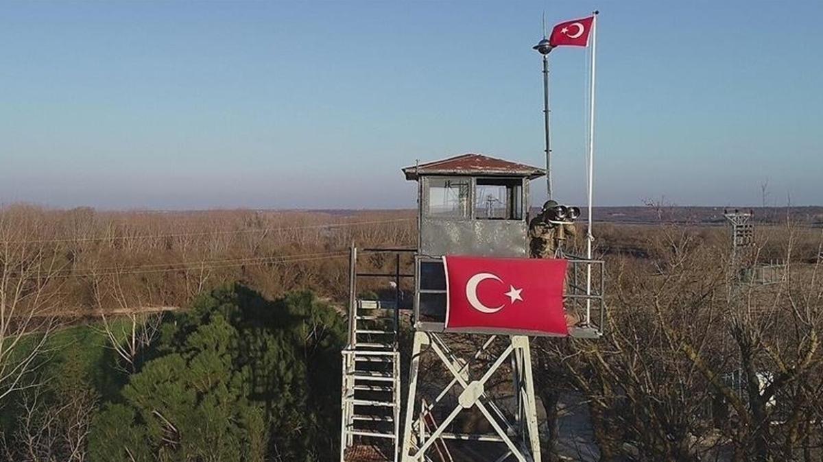 Edirne'de 4 FETÖ mensubu yakalandı