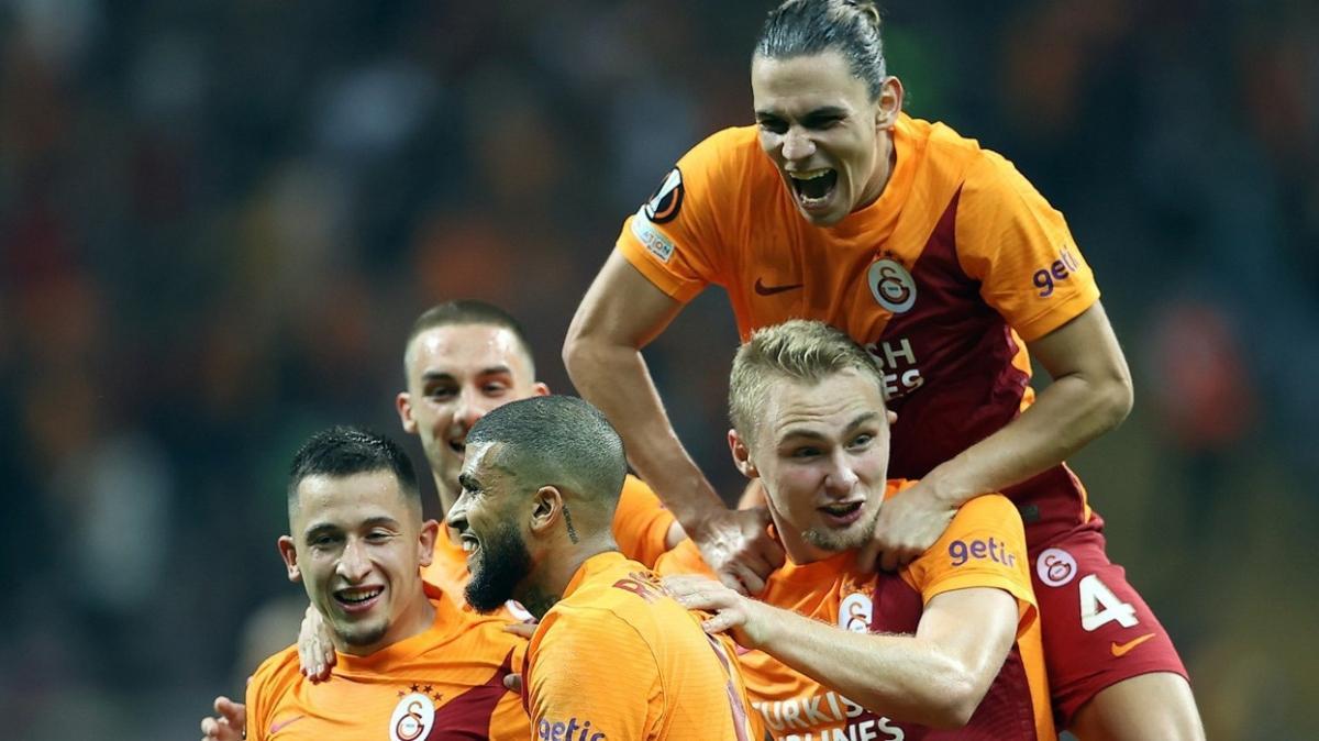 Galatasaray 9 maçtır yenilgi yüzü görmüyor