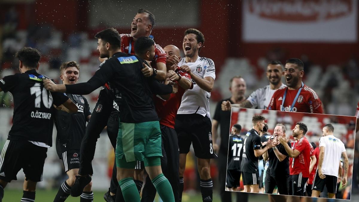 Antalya'da muhteşem geri dönüş! Maç sonucu: Fraport TAV Antalyaspor 2-3 Beşiktaş