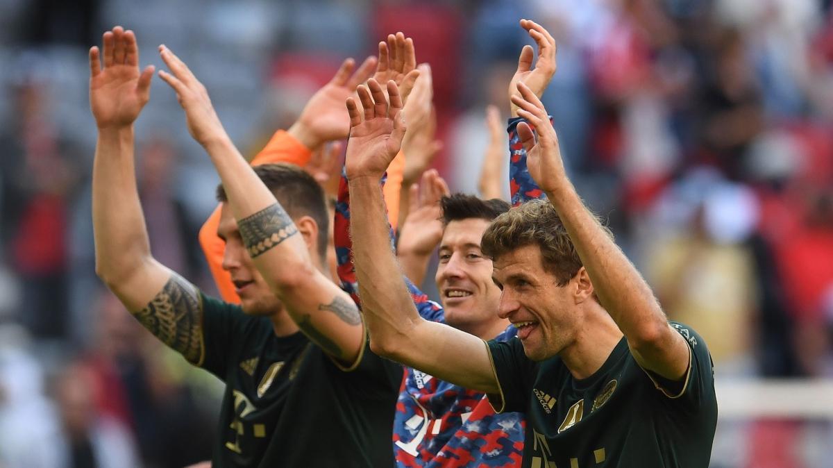 """Bayern Münih, Bochum'u """"7"""" bitirdi"""