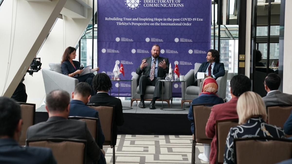 İletişim Başkanlığı'ndan ABD'de BM reformu paneli