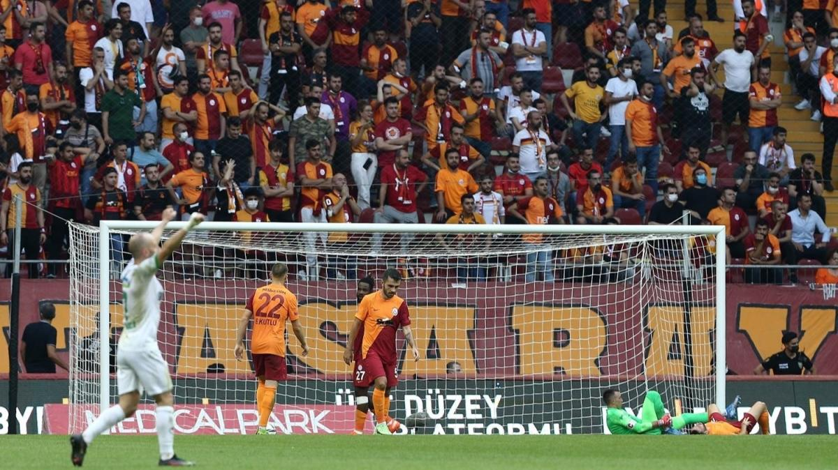 Kayıp aranıyor! Maç sonucu: Galatasaray 0-1 Aytemiz Alanyaspor