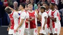 Ajax'tan 9 gollü galibiyet