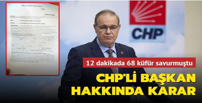 Son dakika haberi: CHP, Fethiye Belediye Başkanı Karaca'yı disipline sevk etti