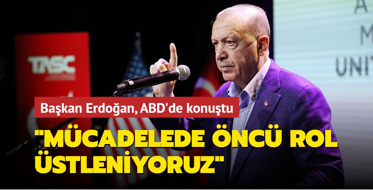 Başkan Erdoğan, ABD'de konuştu: İslam düşmanlığıyla mücadelede öncü rol üstleniyoruz