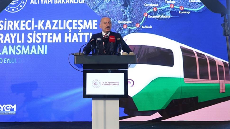 İstanbul'a 8 istasyonlu yeni hat! İşte yeni nesil raylı sistem aracı...