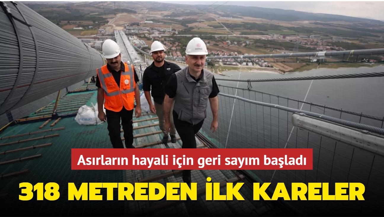 Bakan Karaismailoğlu'ndan 1915 Çanakkale Köprüsü açıklaması