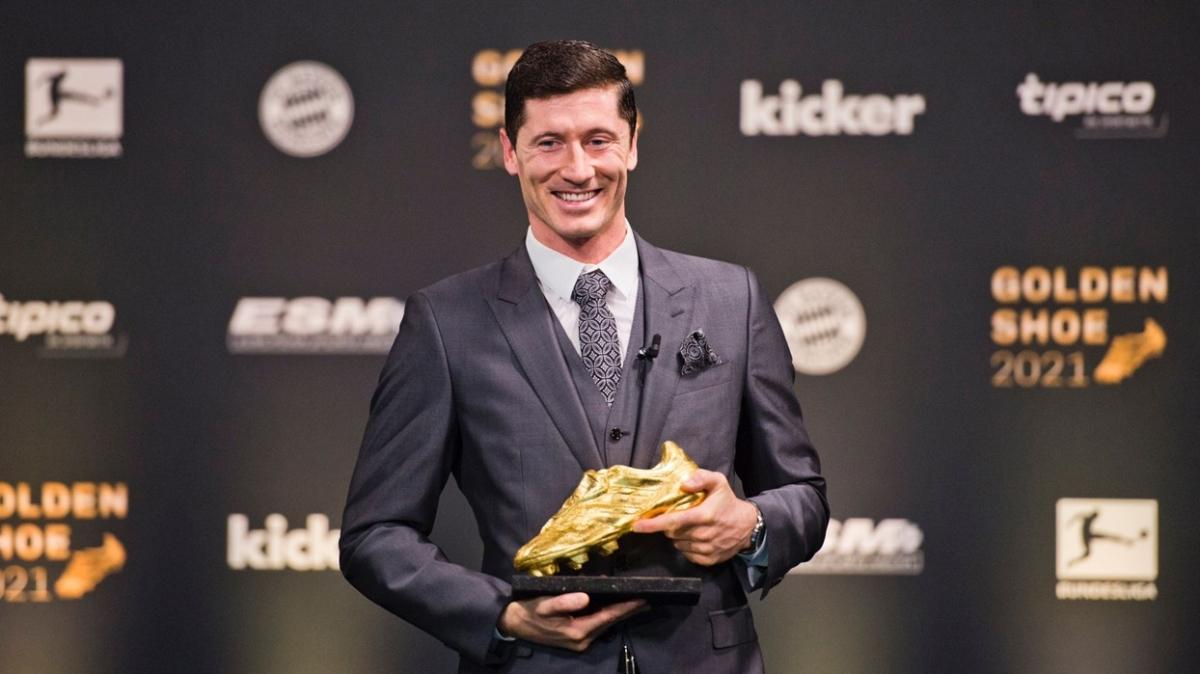 'Altın Ayakkabı' Robert Lewandowski'nin