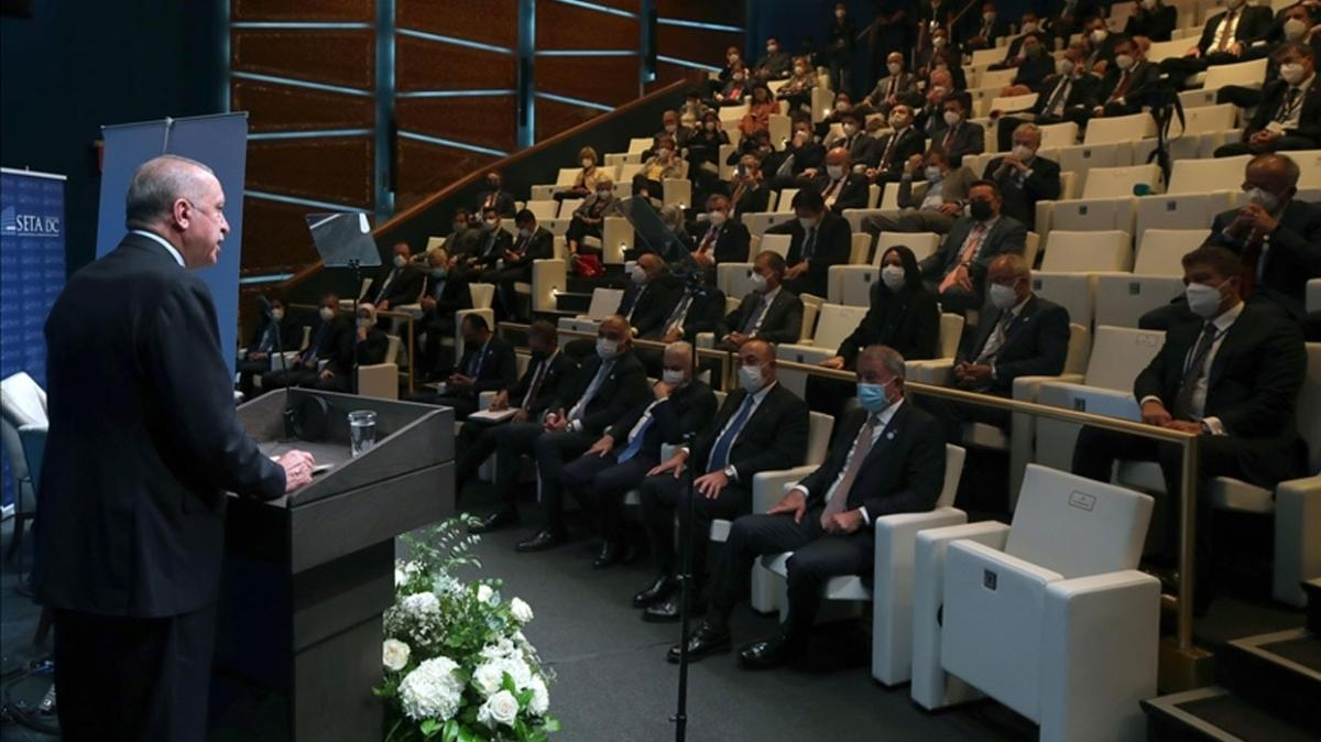Başkan Erdoğan, FPA ve SETA DC tarafından düzenlenen programa katıldı