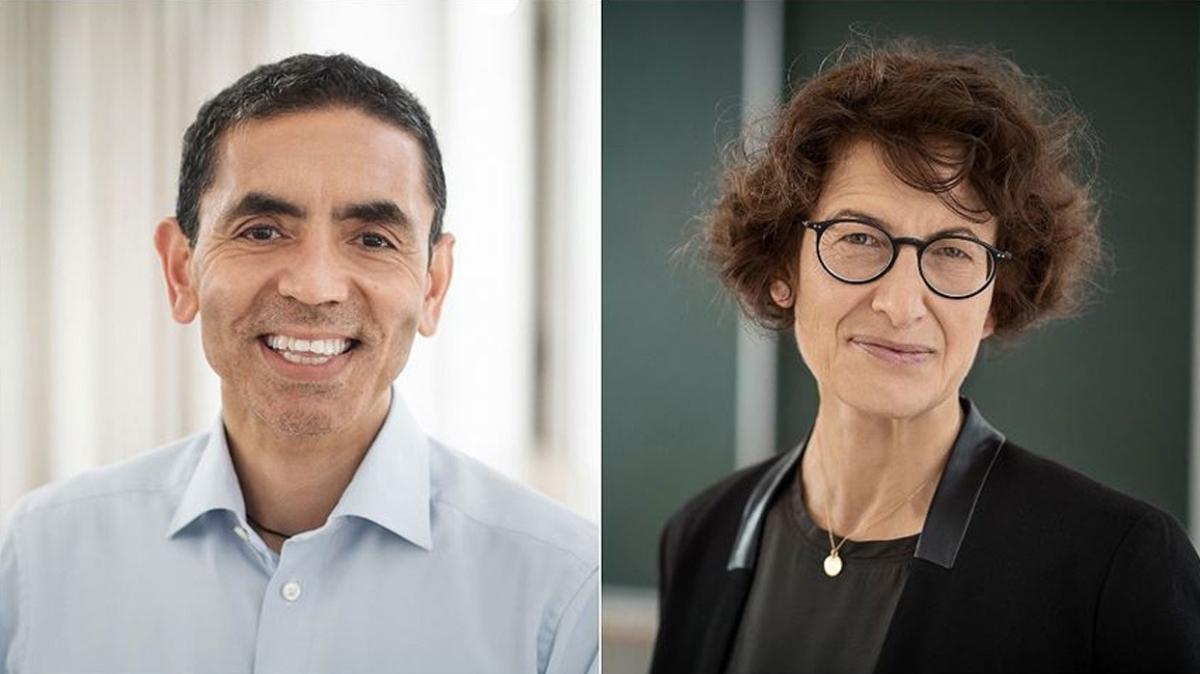 BioNTech bilim insanlarına Almanya'nın büyük bilim ödülü verildi