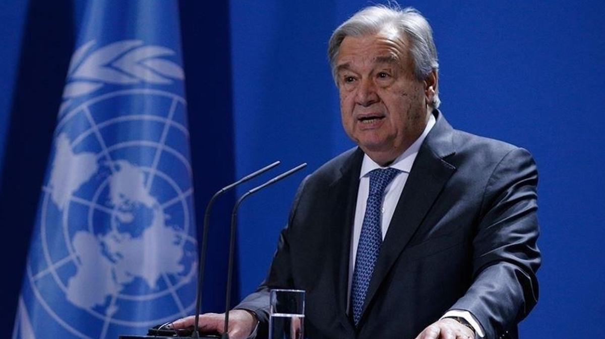 BM Genel Sekreteri Guterres: Uçurumun kenarındayız