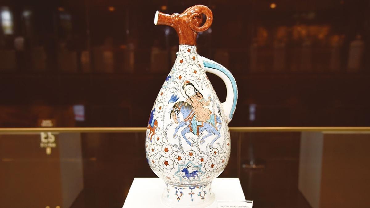 Çini sanatına büyük katkı