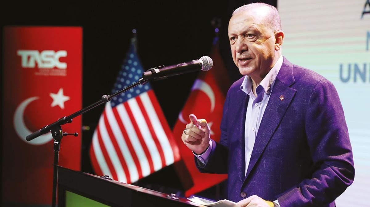 Başkan Erdoğan TASC'ta konuştu: Bir virüs de İslam karşıtlığı