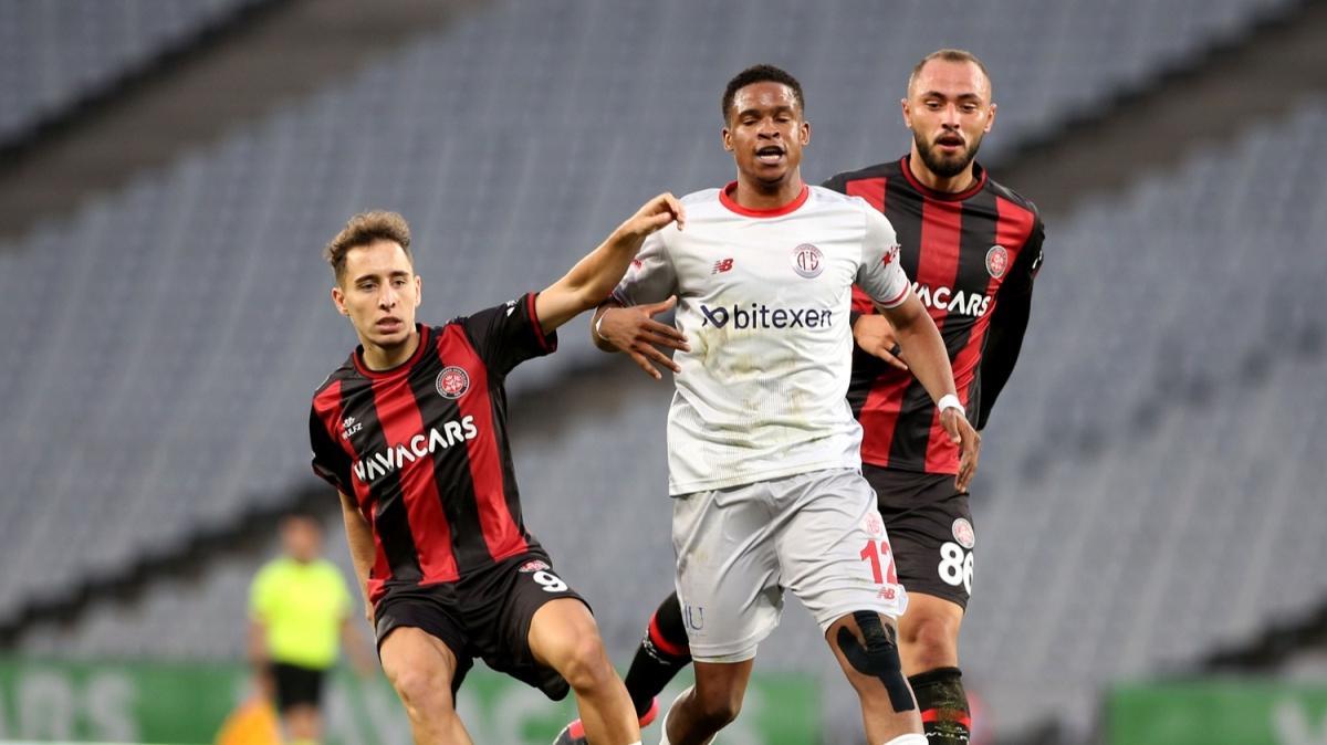 Fatih Karagümrük-Antalyaspor maçının ardından