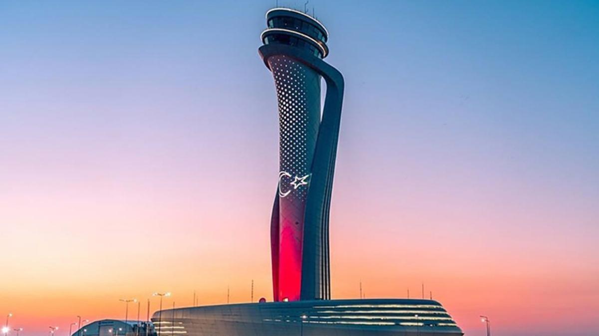 """İstanbul Havalimanı """"Yılın Havalimanı"""" seçildi"""