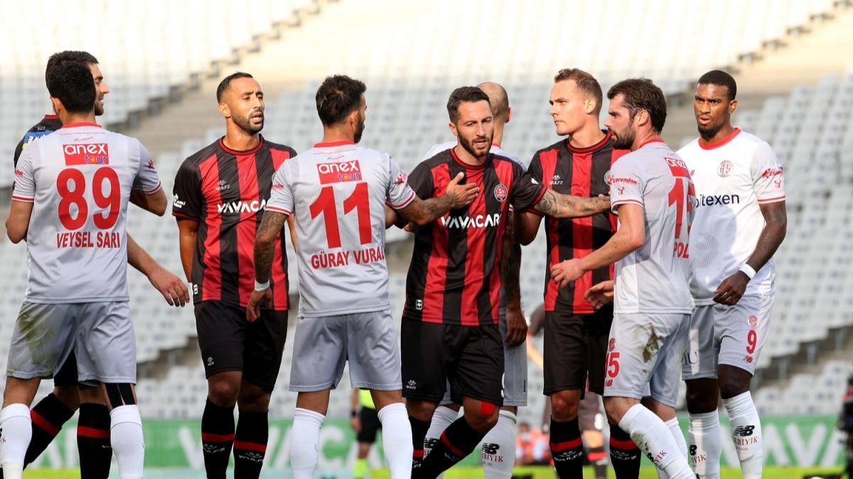 VavaCars Fatih Karagümrük ile Fraport TAV Antalyaspor yenişemedi
