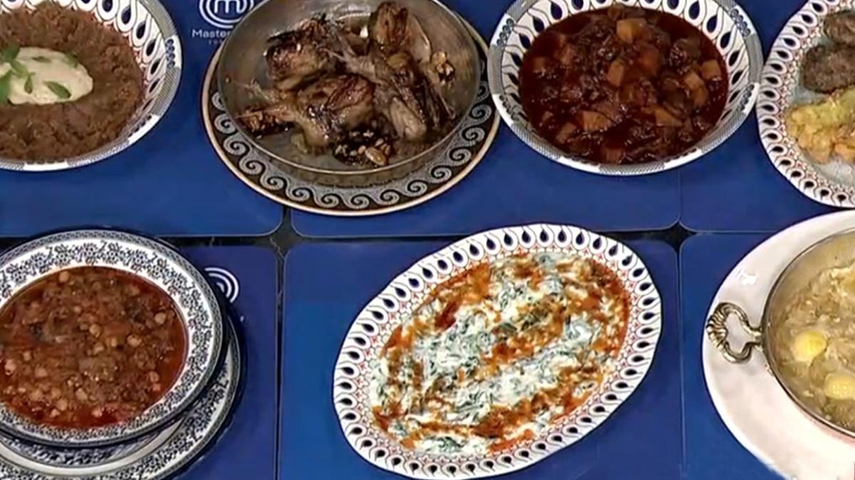 MasterChef Osmanlı yemekleri