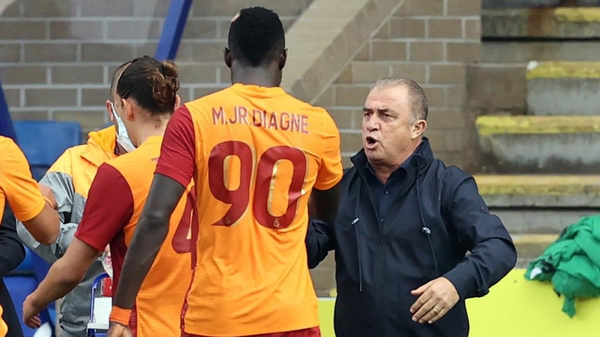 Mbaye Diagne'nin disiplinsiz hareketleri bardağı taşırdı
