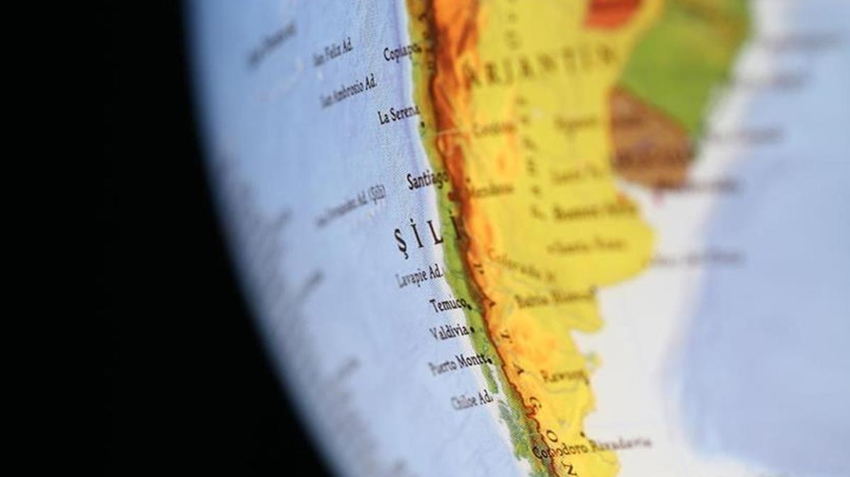 Şili'de 6,4 büyüklüğünde deprem!